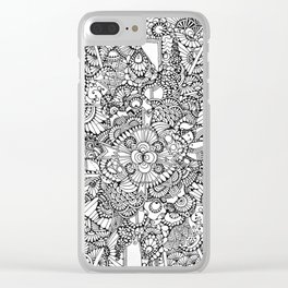 Medal of Groovy Clear iPhone Case