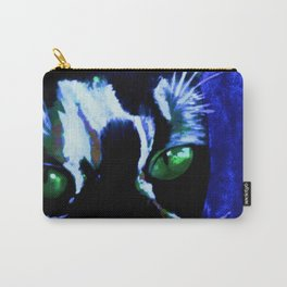 blu  cat Carry-All Pouch