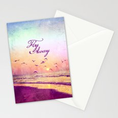 Fly Away  - for iphone Stationery Cards
