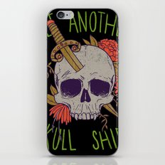 Yet Another Skull Shirt iPhone & iPod Skin