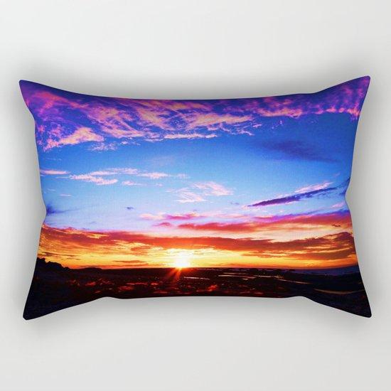Easter Egg Sky Rectangular Pillow