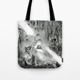 Frankestein - based on the wonderful work of Bernie Wrightson  Tote Bag