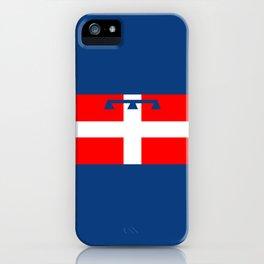 flag of Piedmont iPhone Case