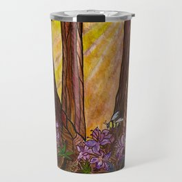 Rays in the Redwoods Travel Mug