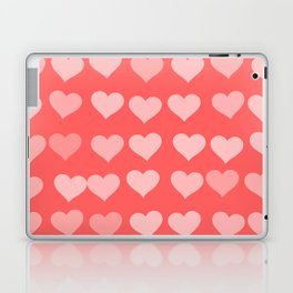 Cute Hearts Laptop & iPad Skin