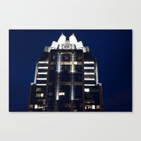 austin Canvas Prints featuring Austin by stawickiphoto