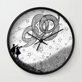 Bottling Starlight Wall Clock