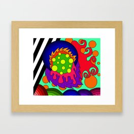 Bumps Framed Art Print
