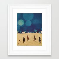 sci fi Framed Art Prints featuring  Sci-Fi...Kids... by Hugo Barros