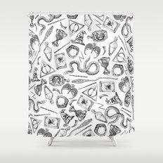 Harry Potter Horcruxes and Items Shower Curtain