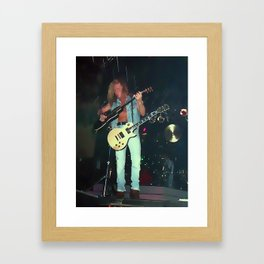 Billy Duffy The Cult Framed Art Print