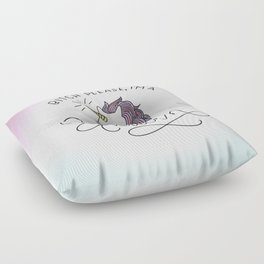 Bitch Please, I'm a Unicorn Floor Pillow