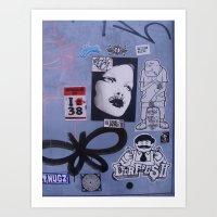 Graffiti in Tokyo Art Print