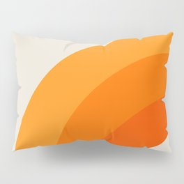 Creamsicle Bow Pillow Sham