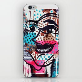 The Dynamic Expressions of Lucy  iPhone Skin