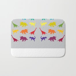 Dino Parade 2 Bath Mat