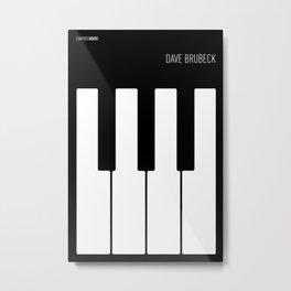 Jazz Dave Brubeck Metal Print