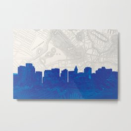 Ye Olde (new) Boston  Metal Print