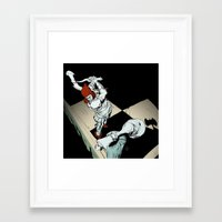 revolution Framed Art Prints featuring Revolution by Mitt Roshin