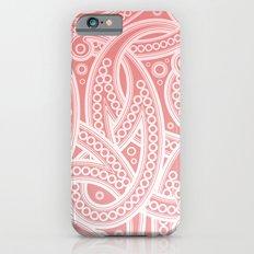 Pink Pattern Slim Case iPhone 6s