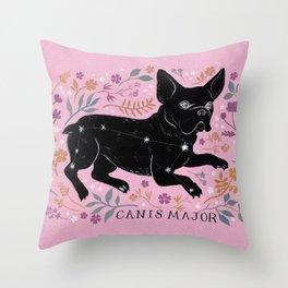 Canis Major Throw Pillow