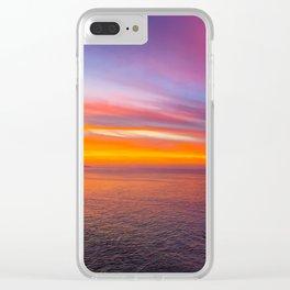 Laguna Sunrise Clear iPhone Case