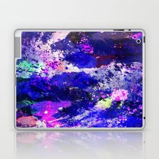 Freedom - Abstract In Blue And Purple Laptop & iPad Skin
