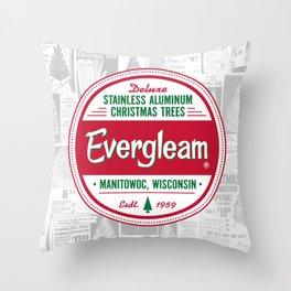 Evergleam Seal Throw Pillow