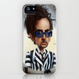 tim burton iPhone Case