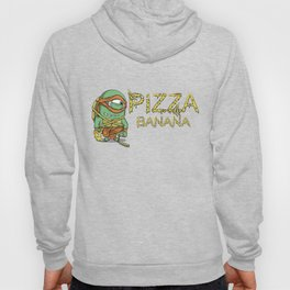 Pizza in Banana Hoody