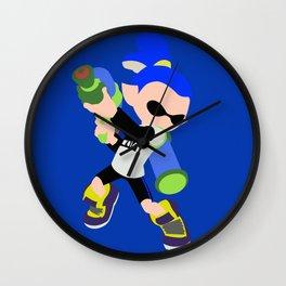 Inkling Boy (Blue) - Splatoon Wall Clock