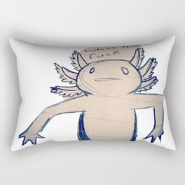 WTF Axolotl Rectangular Pillow