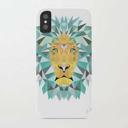 Geomatic Lion  iPhone Case