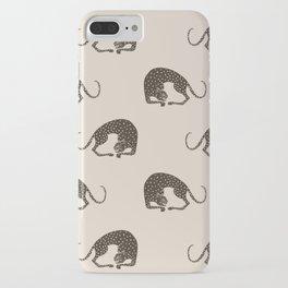 Blockprint Cheetah iPhone Case