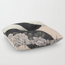 Flowers in sunlight Floor Pillow