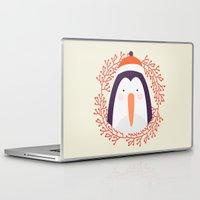penguin Laptop & iPad Skins featuring penguin by Taranta Babu