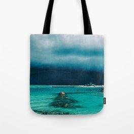 Maldivian storm Tote Bag