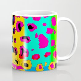 colorpop leopard Coffee Mug