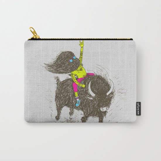 Ride a buffalo Carry-All Pouch