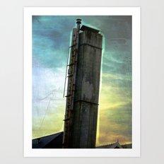 Going UP? Art Print