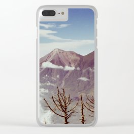 Guatemalan Volcanos Clear iPhone Case