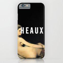 HEAUX 01 iPhone Case