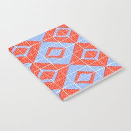 Red and Blue Triangles Notebook