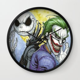 Wicked Smiles Wall Clock