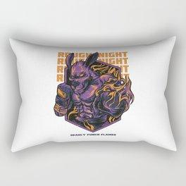 Noche Aspera Rectangular Pillow
