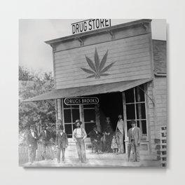 Drug Store #1 Metal Print
