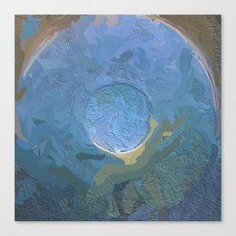 Abstract Mandala 255 Canvas Print
