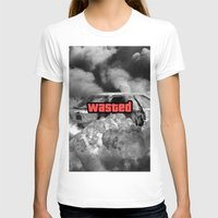 gta v T-shirts featuring Wasted GTA by JOlorful