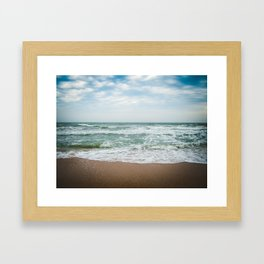 Black Sea Framed Art Print