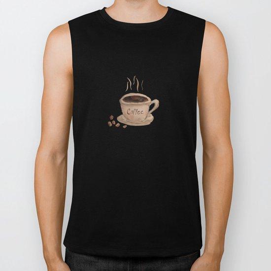 Coffee Please Biker Tank
